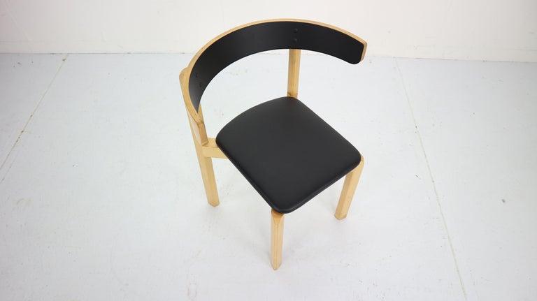 Set of 4 Dining Room Chairs by Jørgen Gammelgaard for Schiang Møbler, Denmark For Sale 3