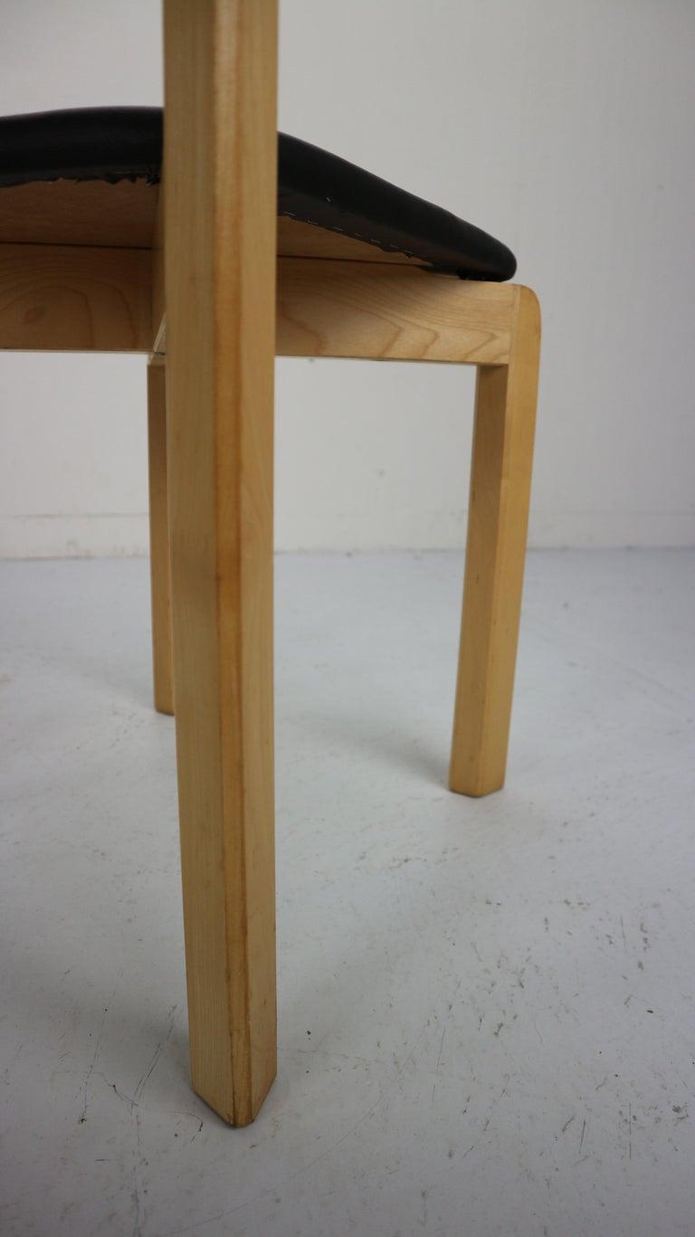 Set of 4 Dining Room Chairs by Jørgen Gammelgaard for Schiang Møbler, Denmark For Sale 6