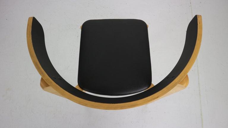 Set of 4 Dining Room Chairs by Jørgen Gammelgaard for Schiang Møbler, Denmark For Sale 8