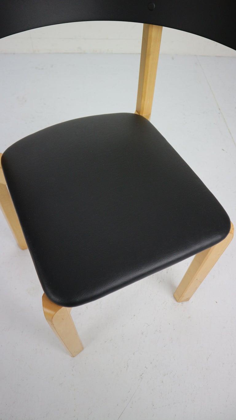 Set of 4 Dining Room Chairs by Jørgen Gammelgaard for Schiang Møbler, Denmark For Sale 9
