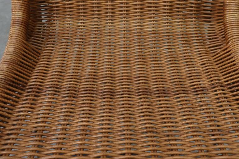 Set of 4 Dirk van Sliedregt Rattan Dining Chairs For Sale 2