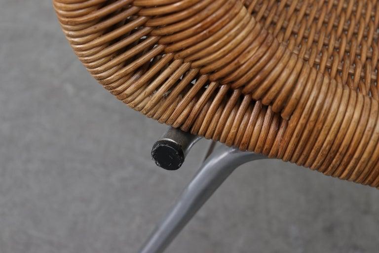 Set of 4 Dirk van Sliedregt Rattan Dining Chairs For Sale 3