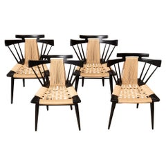 "Set of 4 Edmund Spence ""Yucatan"" Chairs"