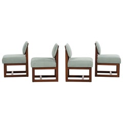 Set of 4 Frank Lloyd Wright Taliesin Dining Chairs