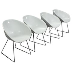 Set of 4 Gliss 920 Chairs by Claudio Dondoli & MarCo Pocci