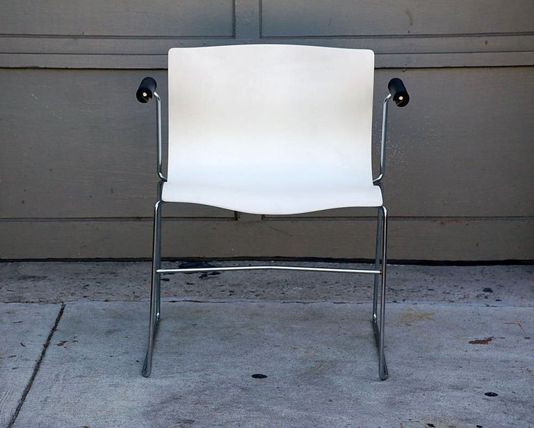 International Style Set of 4 Handkerchief Armchairs by Massimo Vignelli for Knoll For Sale