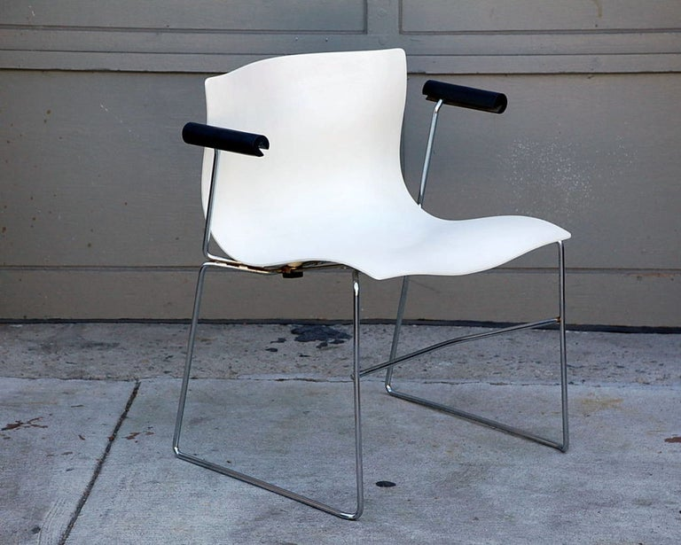 American Set of 4 Handkerchief Armchairs by Massimo Vignelli for Knoll For Sale
