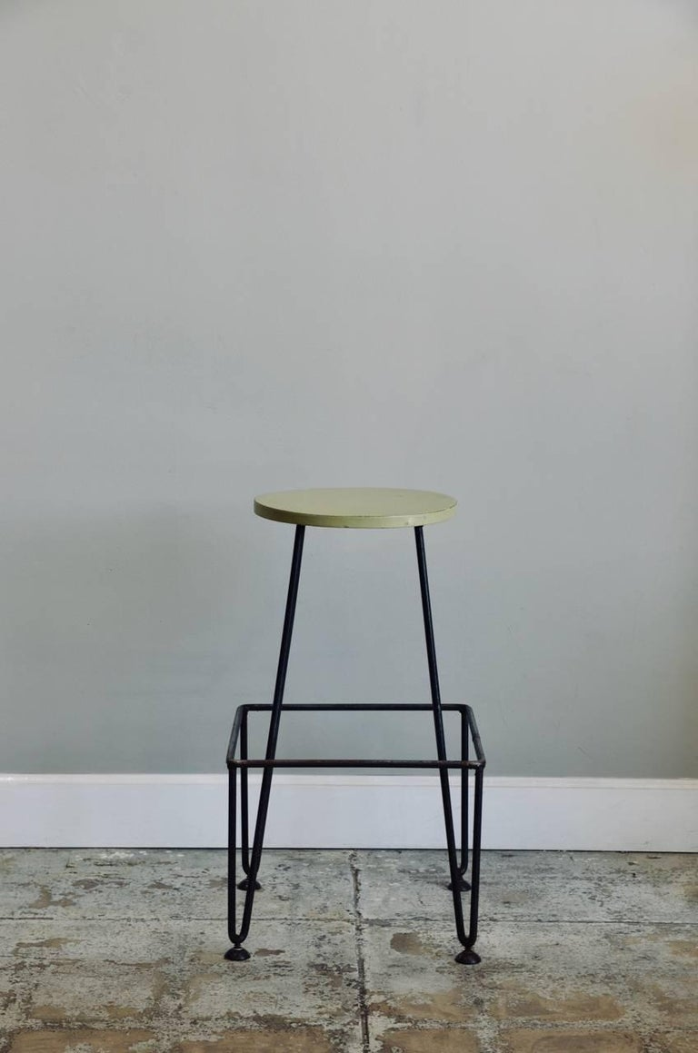 Awesome Set Of Four Industrial Counter Height Bar Stools Machost Co Dining Chair Design Ideas Machostcouk