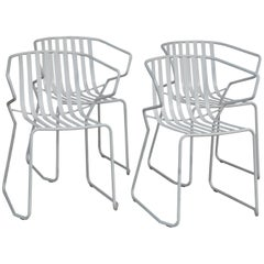 Set of 4 Italian Outdoor Chairs