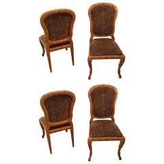 Set of 4 Italian Side Chairs