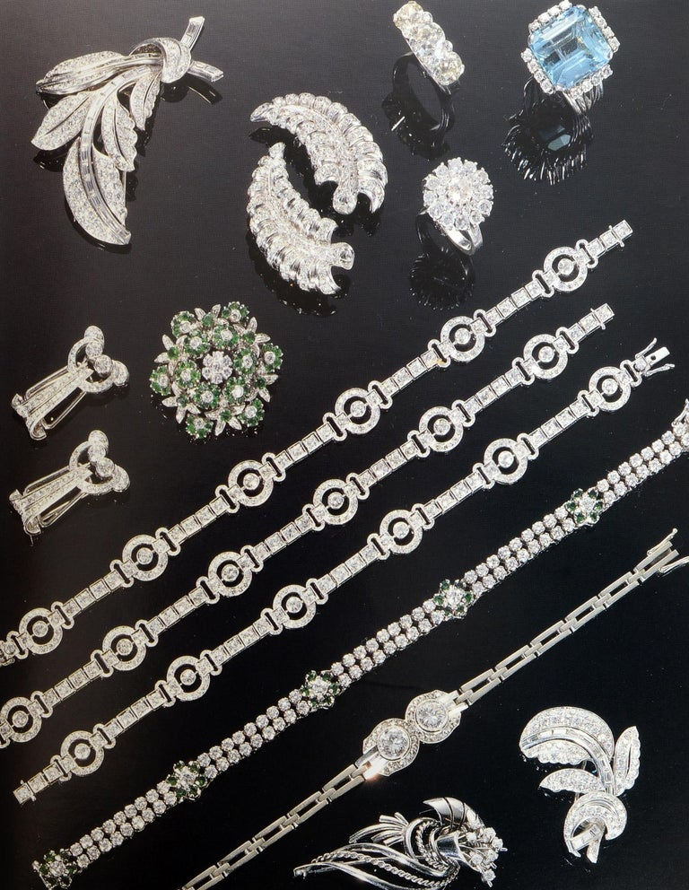 Set of 4 Jewelry Catalogues from Sotheby's & Christie's, First Edition For Sale 8
