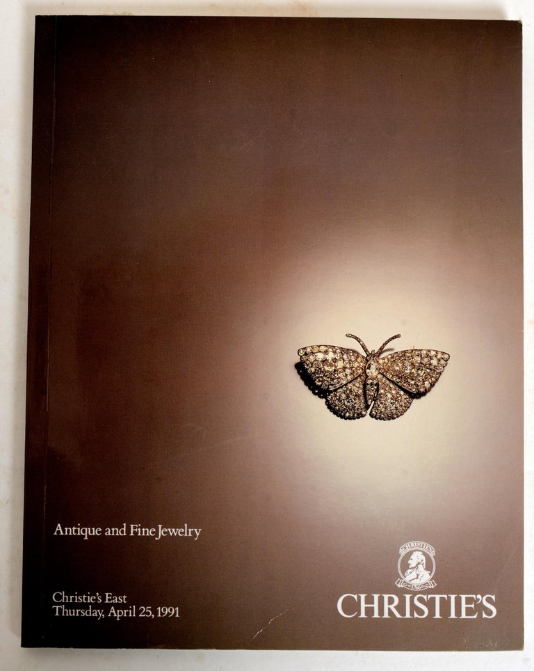 English Set of 4 Jewelry Catalogues from Sotheby's & Christie's, First Edition For Sale