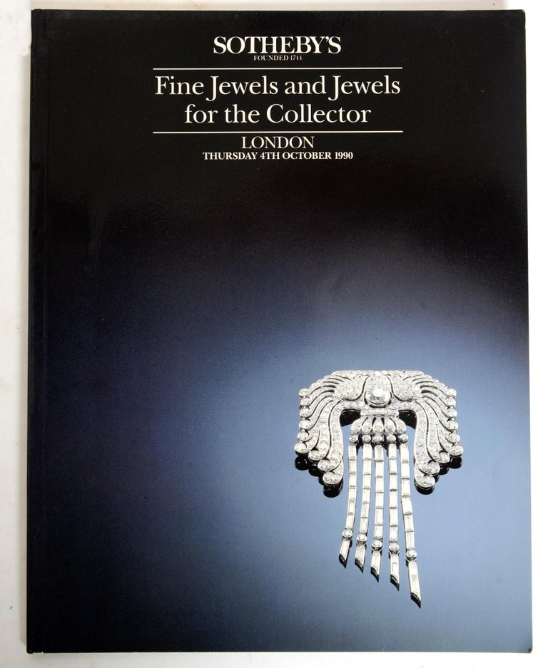 Set of 4 Jewelry Catalogues from Sotheby's & Christie's, First Edition In Excellent Condition For Sale In valatie, NY