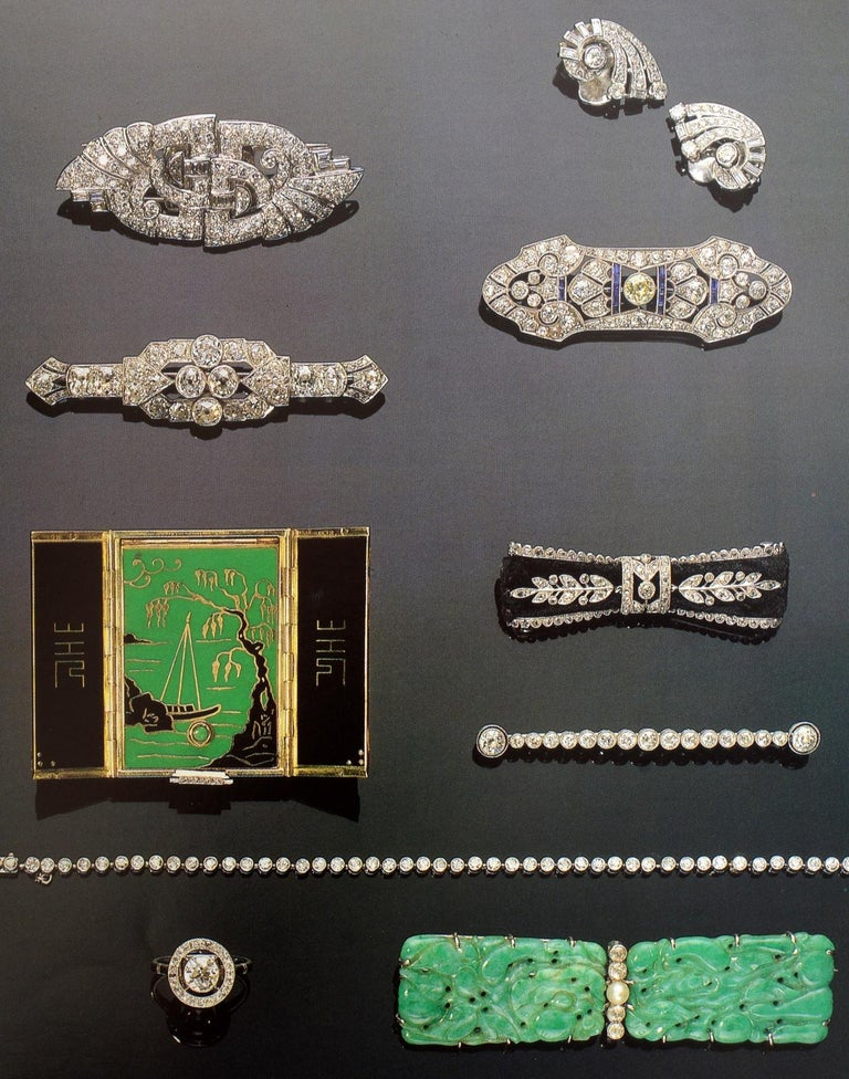Set of 4 Jewelry Catalogues from Sotheby's & Christie's, First Edition For Sale 3