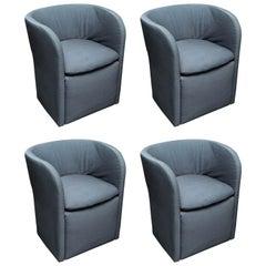Set of 4 John Saladino for Dunbar Chairs