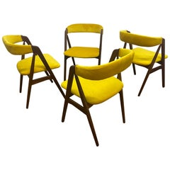 Set of 4 Kai Kristiansen Dining Chairs