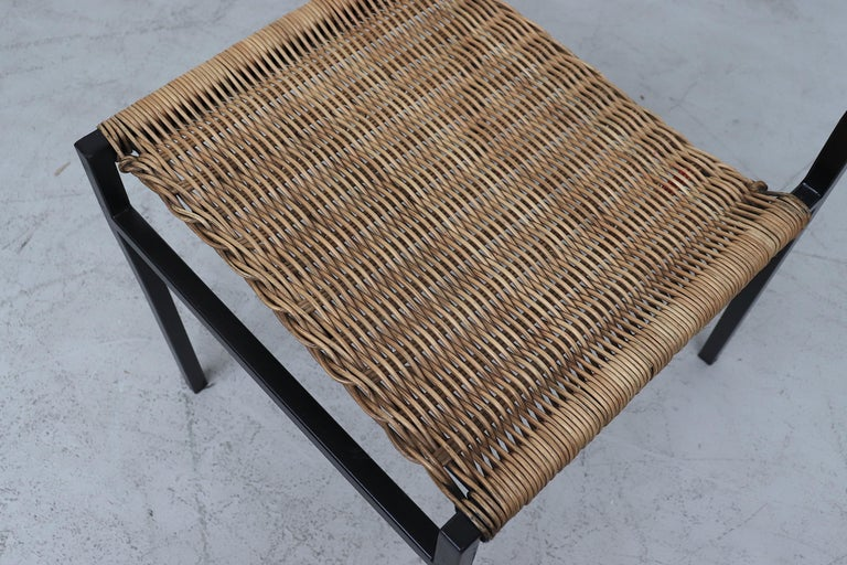 Set of 4 Martin Visser Rattan Dining Chairs For Sale 3