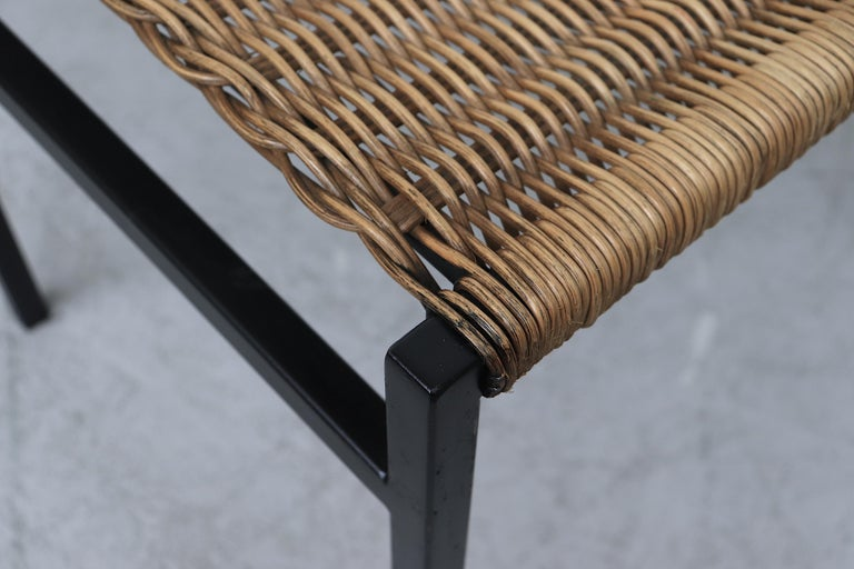 Set of 4 Martin Visser Rattan Dining Chairs For Sale 5