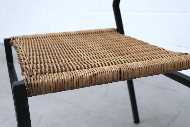 Set of 4 Martin Visser Rattan Dining Chairs For Sale 9
