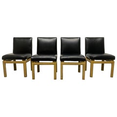 Set of 4 Michael Taylor for Baker Dining Chairs