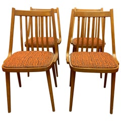 Set of 4 Midcentury Danish Dining Chairs