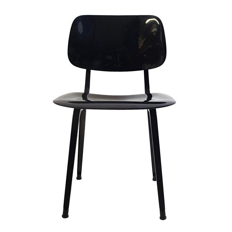 Dutch Set of 4 Mid-Century Modern Chairs