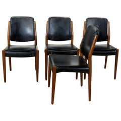 Set of 4 Mid-Century Modern Dining Room Chairs
