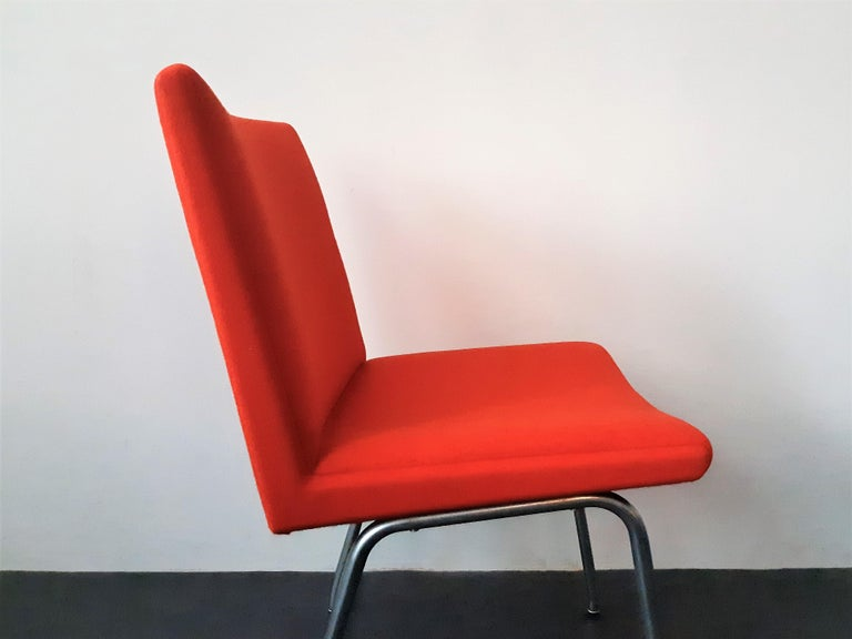 Danish Set of 4 Model Airport Dining Chairs by Hans Wegner for AP Stolen, Denmark For Sale