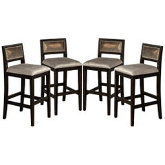 Set of 4 Modern Counter Stools