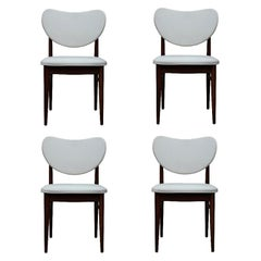 Set of 4 Modern Dining Chairs in the Style of Finn Juhl, 1950s