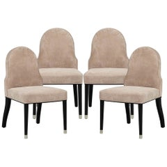 Set of 4 Modern Style Side Chairs