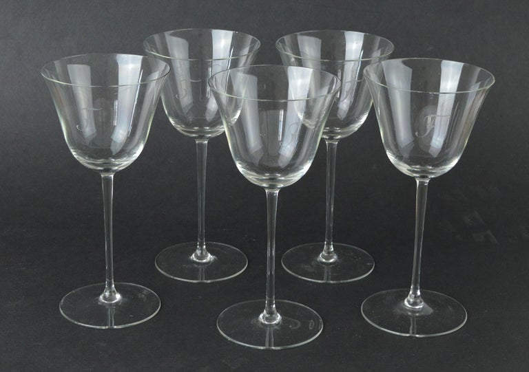 Really fine glass. Perfect condition.