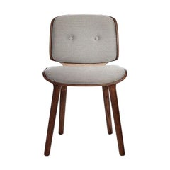 Set Of 4 Nut Dining Chairs by Moooi