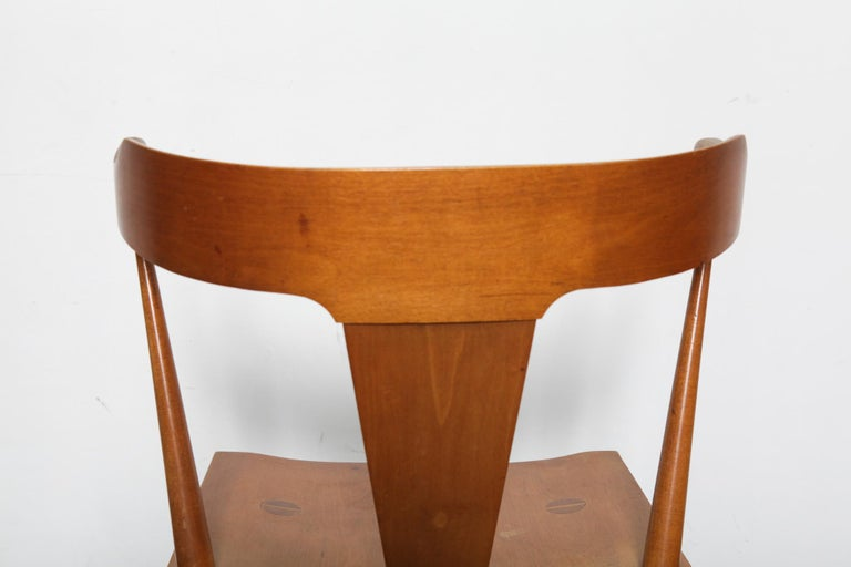Mid-20th Century Set of 4 Paul McCobb Planner Group Series Spindle Back Dining Chairs For Sale