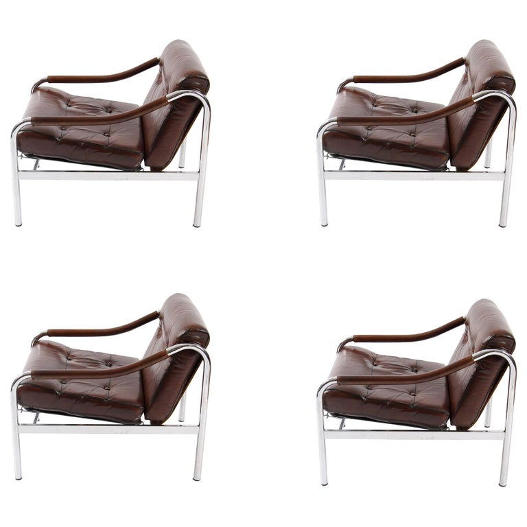 Two Sets of 2 Pieff Chairs  For Sale