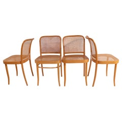 Set of 4 Prague Chairs by Breuer for Stendig