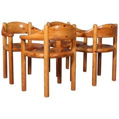 Set of 4 Rainer Daumiller for Hirtshals Savvaerk Dining Chairs