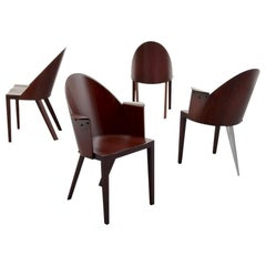 4 Rare Philippe Starck Chairs from the Royalton Hotel, NYC