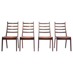 Set of 4 Rosewood Chairs, Danish Design, 1960s