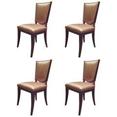 Set of 4 Solid Beech Chairs