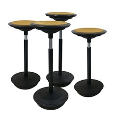 Set of 4 Stitz Stools Designed by Hans Roericht for Wilkhahn