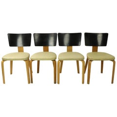 Set of 4 Thonet Dining Chairs