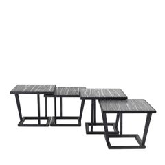 Set of Four Tigre Side Tables