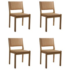 Set of 4 Vintage Aalto 611 Dining Chairs