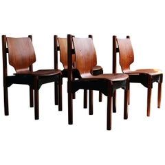 Set of 4 Vintage Danish Dining Chairs