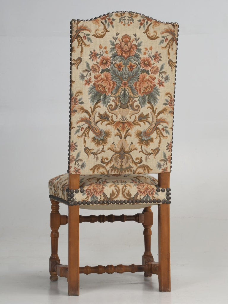 Set of '4' Vintage French Dining Chairs For Sale 7