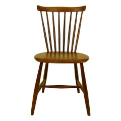 Set of 4 Vintage Pastoe 1960s Peg Chairs in Teak