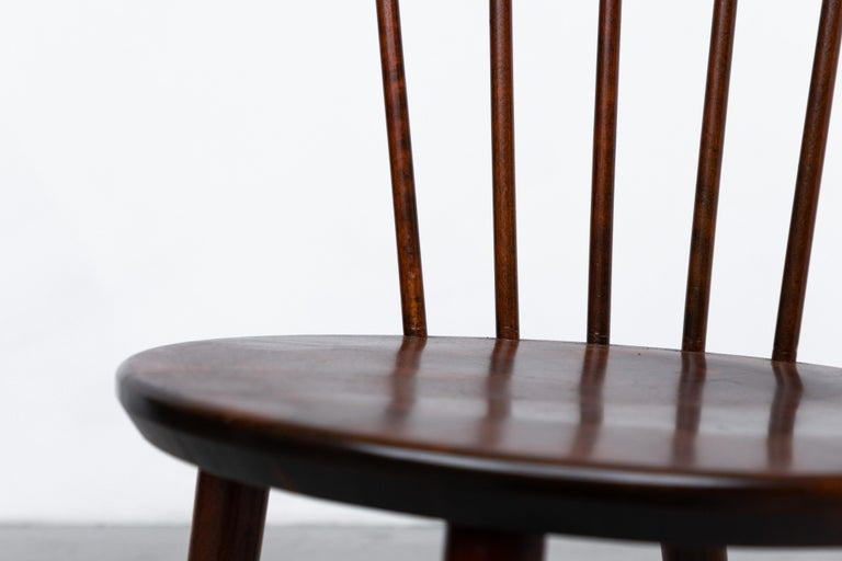 Set of 4 Yngve Ekstrom for Nesto V9 Spindle Back Chairs For Sale 8