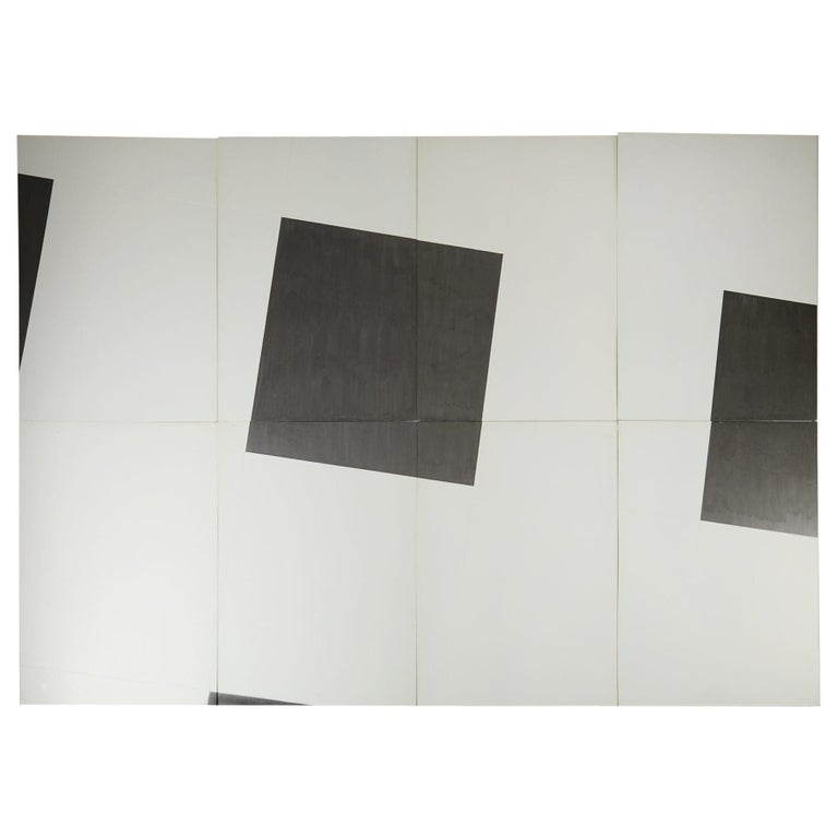 "Set of 456 Painted Panels ""Ändlös Vägg""/""Endless Wall"" by Einar Höste, Sweden For Sale"