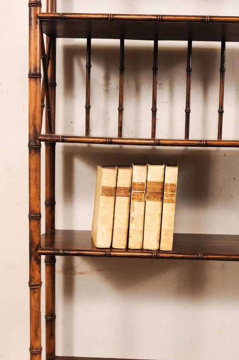 Set of 5 18th Century Italian Vellum Bound Books in Cream Color For Sale 6